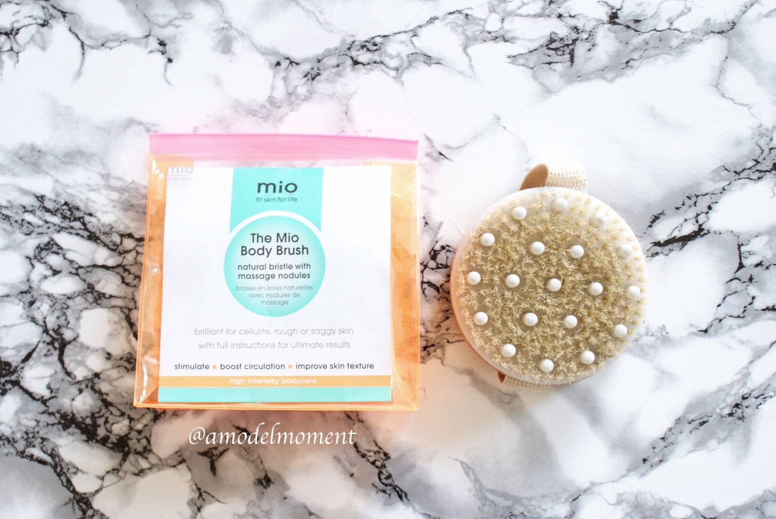 Mio Skincare's Body Brush