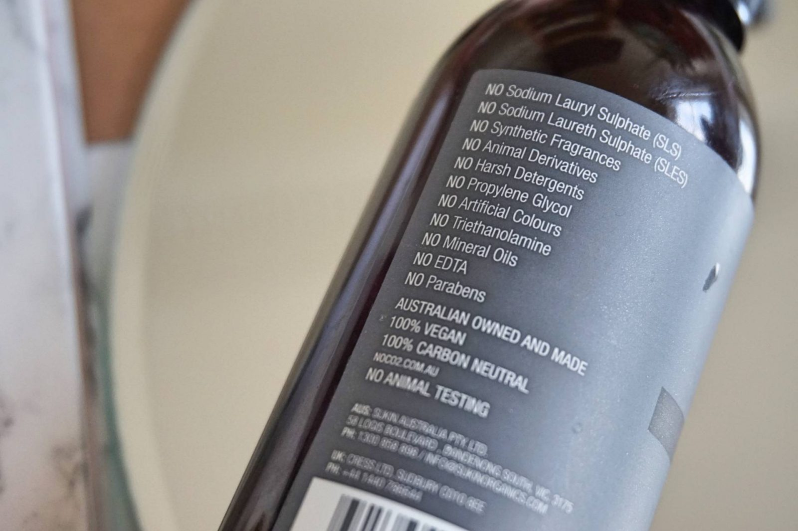Sukin Organics Oil Balancing Gel Cleanser