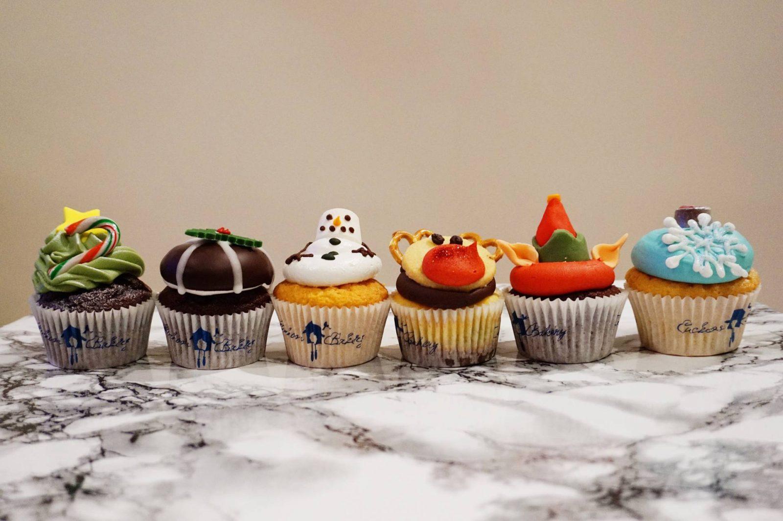 Christmas Cupcakes at Cuckoo's Bakery