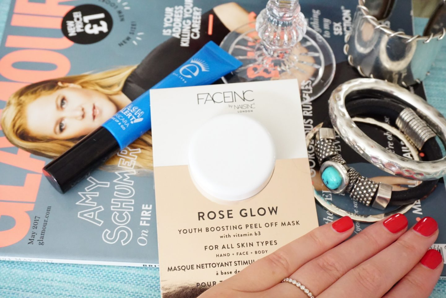 Rose Glow Peel Off Mask from Face Inc by Nails Inc