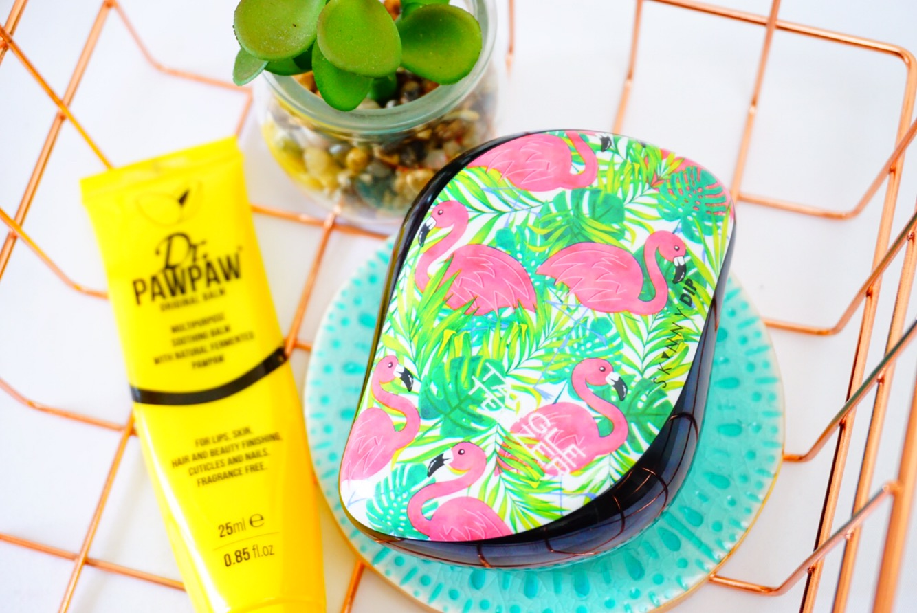 Summer Vibes with Tangle Teezer and Skinny Dip Collaboration.