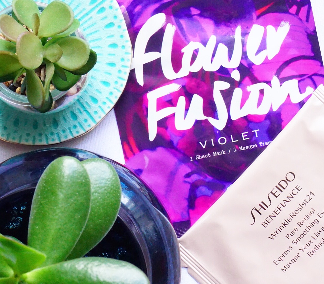 Sunday Sheet Mask with Origins and Shiseido
