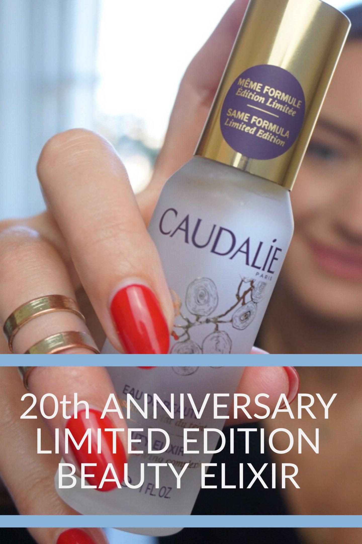Caudalie Beauty Elixir Celebrates 20 years